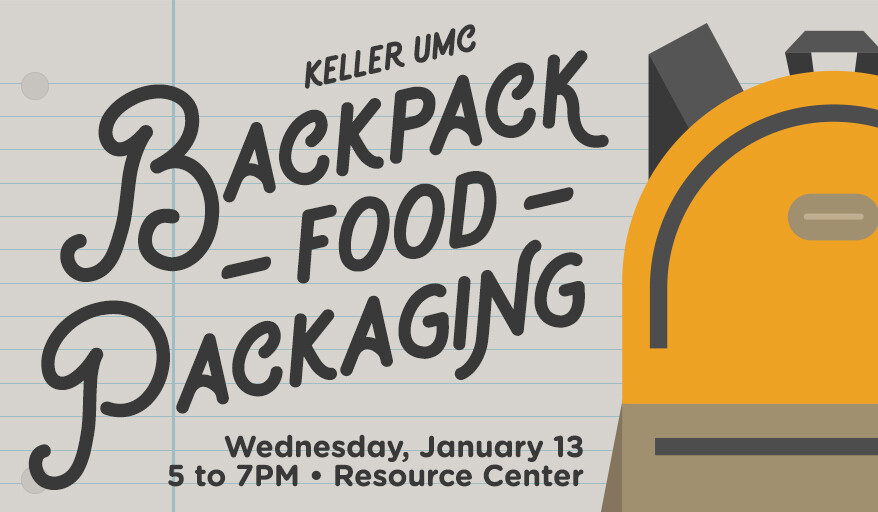 Backpack Food Packing Event
